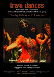 Iraqi dances workshop