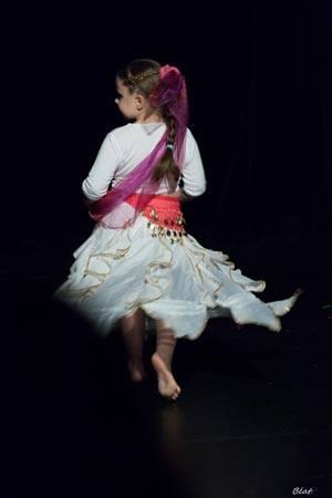 Danse orientale enfant à Toulouse