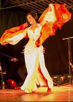 Ibtissem a belly dancer
