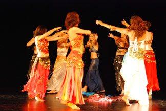 Belly dancing classes