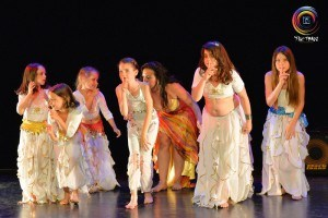 Kids belly dancing