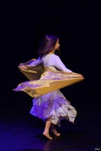 Cours enfant de danse orientale à Toulouse