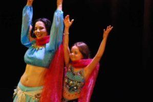 Cours de danse orientale enfant