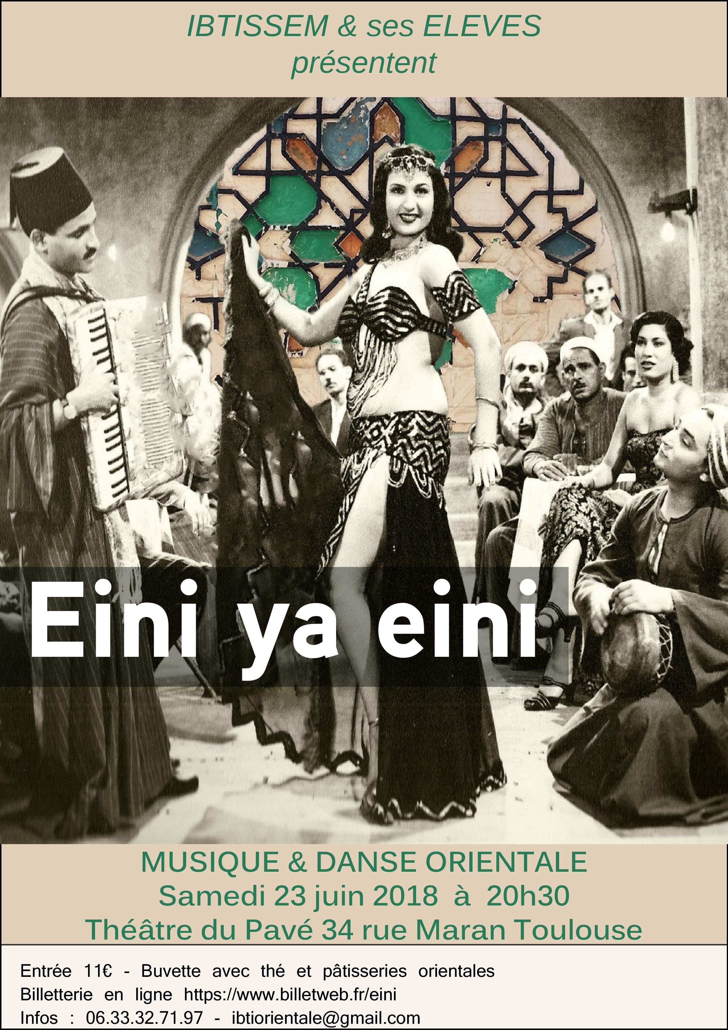 Spectacle de danse orientale